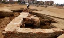 اكتشاف مبنى أثري من العصر اليوناني الروماني شمال القاهرة