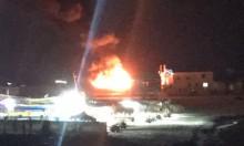 الاحتلال يقصف الميناء وموقعا للمقاومة بقطاع غزة