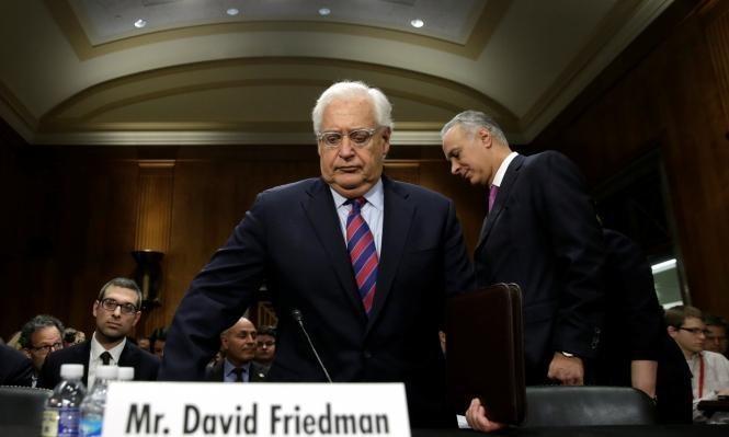 فريدمان ممجدًا نتنياهو: ليس أمام الفلسطينيين إلا التعامل معنا
