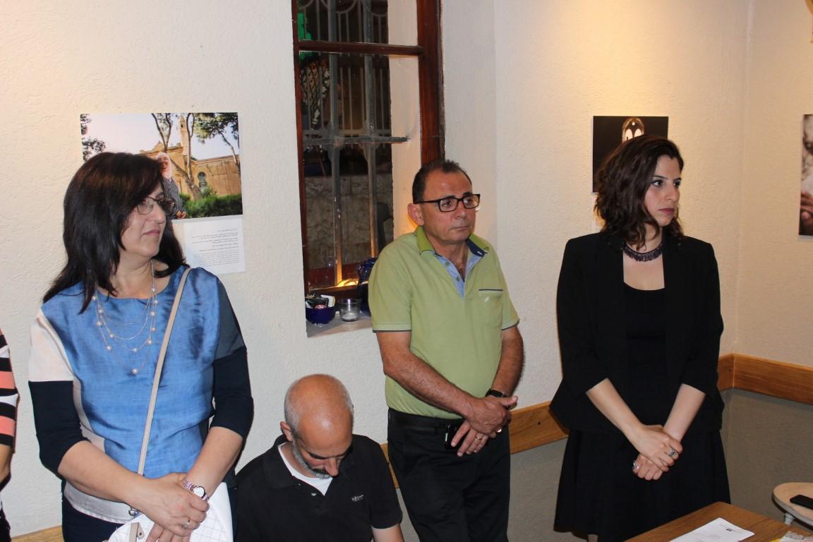 """حيفا: افتتاح معرض صور """"عدالة"""" في الذكرى 70 للنكبة"""