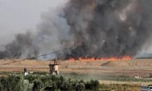 """5 حرائق بمستوطنات """"غلاف غزة"""" بفعل الطائرات الورقية"""