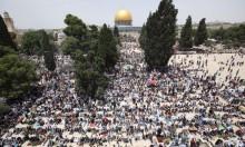 200 ألف مصل يؤدون الجمعة الثانية من رمضان بالأقصى