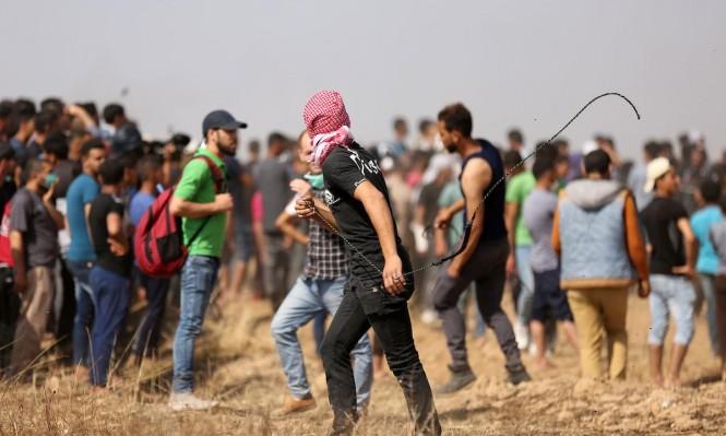 مسيرة العودة: إصابات بالرصاص الحي والاختناق شرقي غزة
