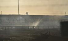 إحراق موقع لقناصة جيش الاحتلال شرق غزة