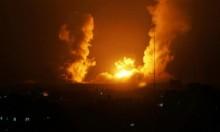 طائرات الاحتلال تقصف مواقع للقسام بغزة