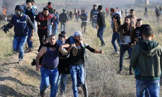 جريحان برصاص الاحتلال شرقي غزة