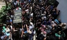 غزة: جماهير خانيونس تشيّع الشهيدين العمور والناقة
