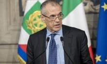 الرئيس الإيطالي يكلف كارلو كوتاريللي بتشكيل الحكومة