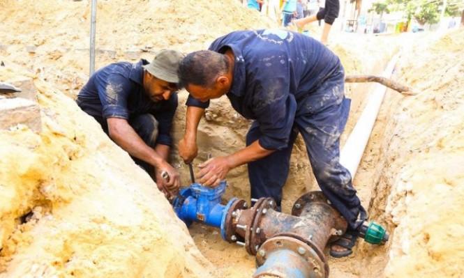 خان يونس: أزمة مياه خانقة إثر تفاقم مشكلة الكهرباء