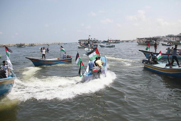 غزة: سفينة الحرية تكسر حاجز الـ 9 أميال