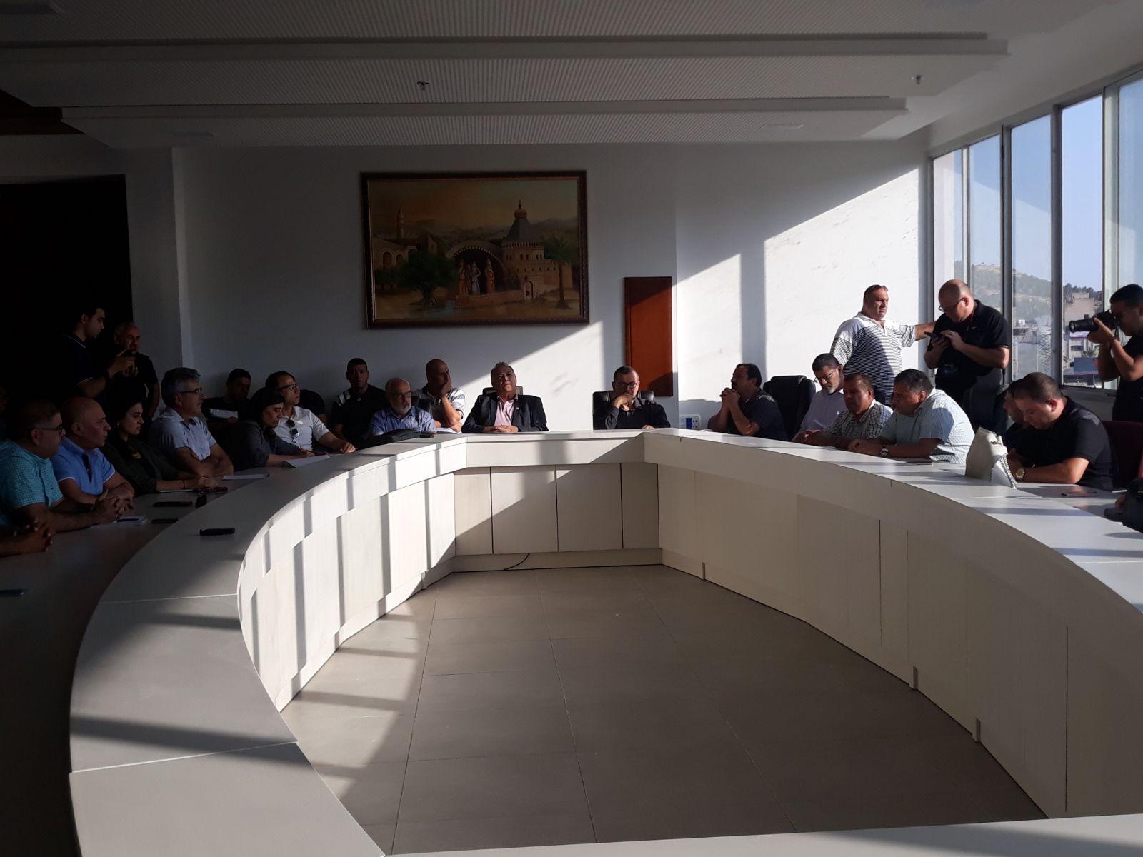 للمرّة الثانية: بلديّة الناصرة تفشل في تمرير الميزانية