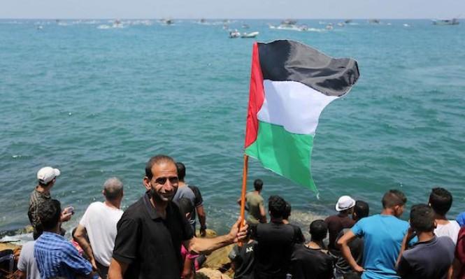 أسطول الحرّيّة الخارج من غزّة