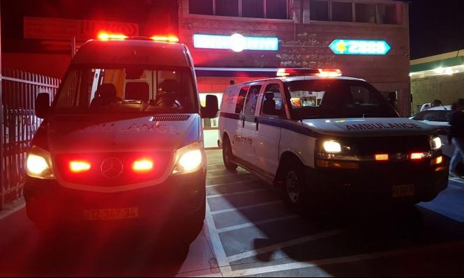 البعنة: إصابة حرجة لشاب في حادث دراجة نارية