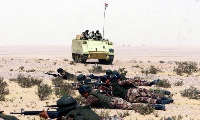 سيناء: مقتل مجندين و8 مسلحين في تبادل إطلاق النيران