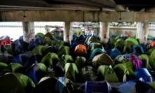 الأمني الفرنسي يخلي أكبر مخيم للمهاجرين بباريس
