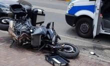 الرامة: إصابة سائق دراجة نارية في حادث طرق