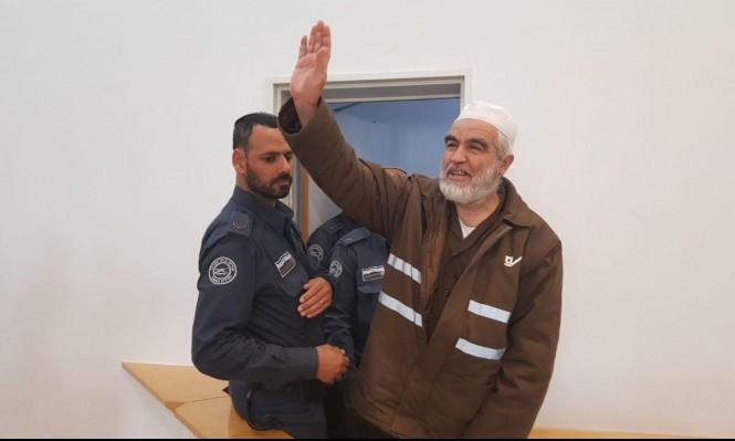 المحكمة تبحث طلب إعادة النظر باعتقال الشيخ رائد صلاح