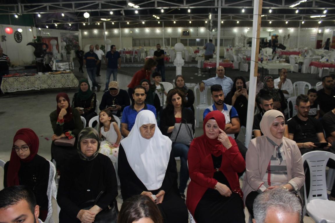 التجمع يُنظمُ إفطارا رمضانيا ومهرجانا سياسيا لعوائل الأسرى