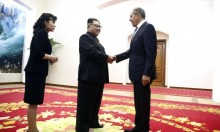 """لافروف بِكوريا الشمالية لإجراء محادثات وكيم يشكو """"هيمنة أميركا"""""""
