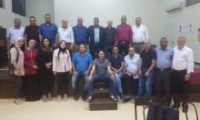 النقب: إفطار جماعي لخريجي جامعة اليرموك الأردنية لبرنامج الدكتوراه