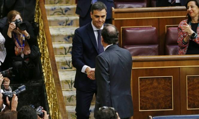 البرلمان الإسباني يحجب الثقة عن حكومة راخوي ويختار سانشيز رئيسا للحكومة
