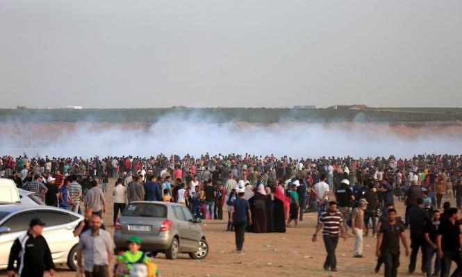 """جمعة """"من غزة إلى حيفا"""": شهيدة وأكثر من 100 إصابة باعتداءات الاحتلال"""