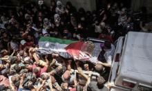 غزة تشيع شهيدة العمل الطبي رزان النجار