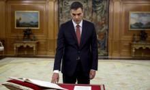 الاشتراكي سانتشيث يؤدي اليمين رئيسا لوزراء إسبانيا