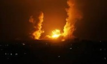 طائرات الاحتلال تغير على مواقع للمقاومة بغزة وصواريخ بالجنوب