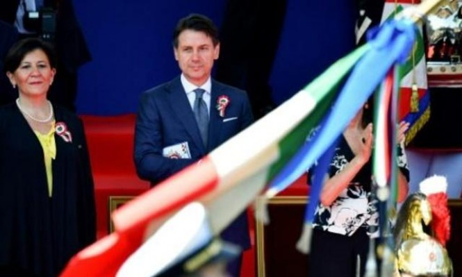 """ائتلاف شعبوي لرئيس وزراء إيطاليا الجديد بـ""""يوم الجمهورية"""""""