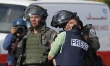إصابة 55 صحافيًا بأسلحة الاحتلال منذ بداية مسيرات العودة