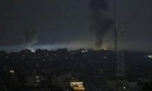طيران الاحتلال يستهدف 15 موقعًا للمقاومة في قطاع غزة