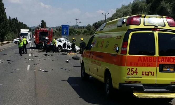 مصرع شخص في حادث طرق قرب مجيدو