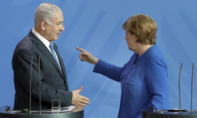برلين: نتنياهو يواصل حملته على إيران وميركل تتمسك بالنووي