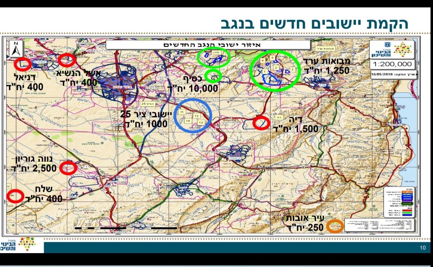 """وزير الإسكان الإسرائيلي: """"البناء العربي في النقب إرهاب"""""""
