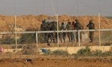 الاحتلال يعتقل فلسطينيا ويستهدف متظاهري العودة شرق خانيونس