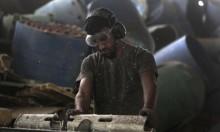 انخفاض كميات الإنتاج الصناعي بمناطق سيادة السلطة الفلسطينية