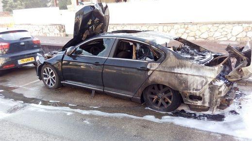 إضرام النار بسيارة في عكا