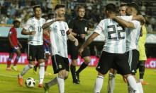 الاتحاد الفلسطيني يحيي ميسي والمنتخب الأرجنتيني