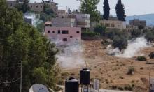 إصابات واعتقالات بمواجهات مع الاحتلال بالنبي صالح والخليل