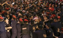 الأردن: طعن رجل درك خلال وقفة احتجاجية قرب مقر الحكومة