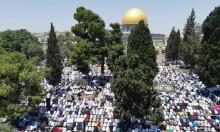 القدس: 280 ألف فلسطيني يؤدون الجمعة الرابعة من رمضان بالأقصى