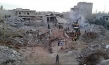 المرصد السوري: 44 قتيلا على الأقل في ضربات جوية على إدلب