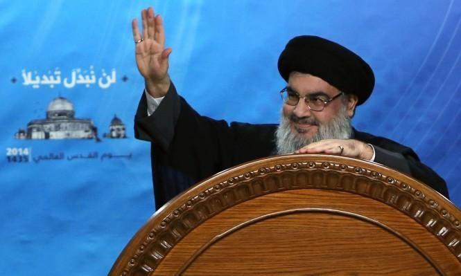 نصر الله يشترط انسحاب حزب الله  من سورية بطلب من الأسد