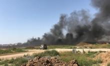 """تجدد الحرائق بـ""""غلاف غزة"""" بفعل الطائرات الورقية"""