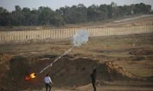 نجاة مجموعة من مطلقي الطائرات الورقية بغزة من صواريخ الاحتلال
