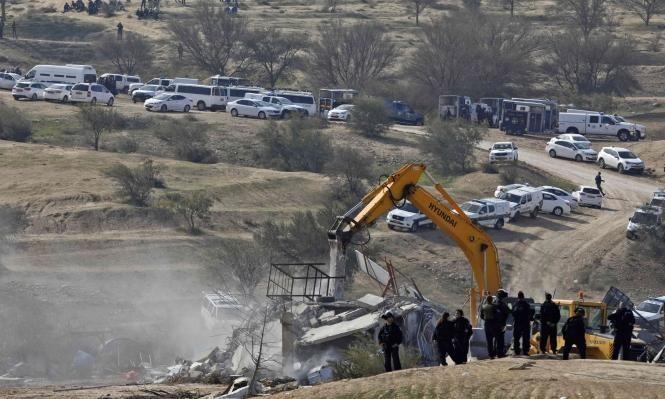 النقب: إلصاق أوامر هدم على بيوت في قرية الغراء