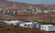 مستوطنون ينصبون بيوتا متنقلة بجبل صبيح