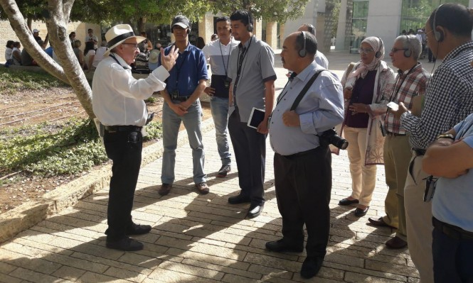 وفد مغربي تطبيعي يزور إسرائيل