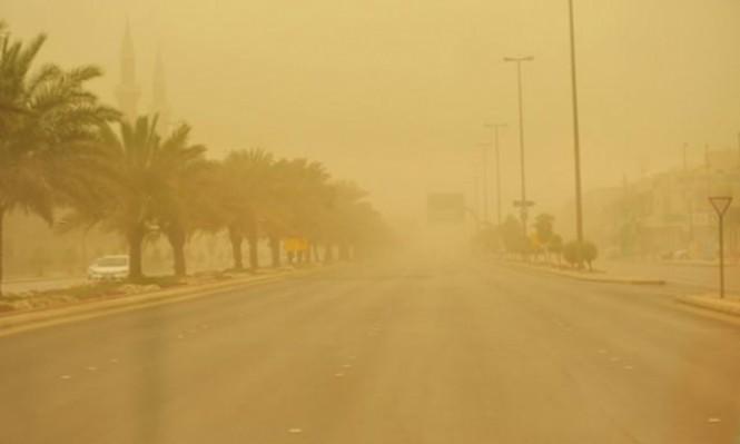 حالة الطقس: أجواء صيفية حارة ومغبرة
